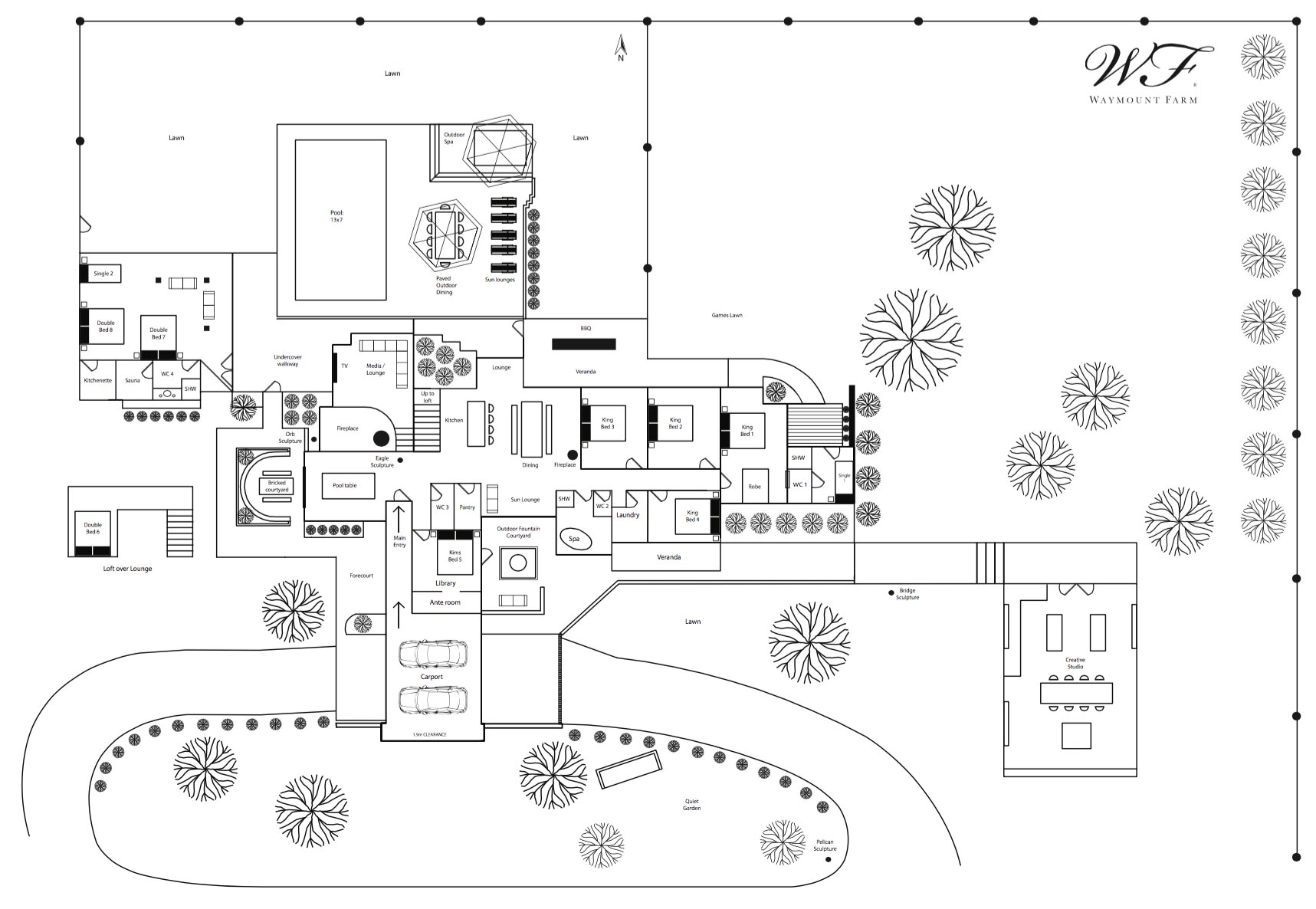 Waymount Farm Site Plan
